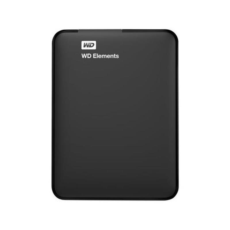 Disco Rigido WESTERN DIGITAL Externo 1 TB Elements USB 3.0 (WDBUZG0010BBK-WESN)