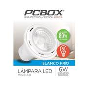 Lampara Led Pcbox Mr123 6W Gu10 Blanco