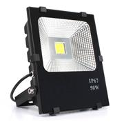 Reflector Led Pc Box - Sd - 50W Slimbf 50W Slim Blanco Frio