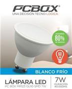 Lampara Led Pc Box Mr123 Gu10 7W Blanco