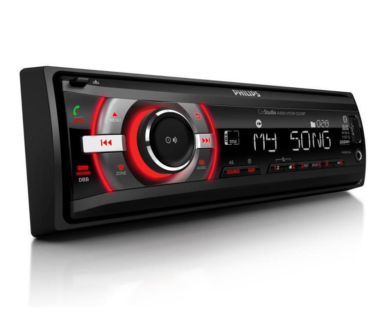 Car Stereo Philips Ce135Bt/55 - Usb, Bt, Mp3, Sd
