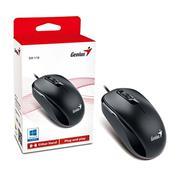 Mouse Optico Genius Dx-110 Usb - Black