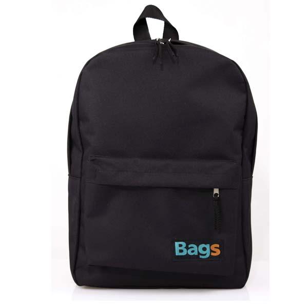 Mochila Bordada Urban Porta Notebook Bags Negra M001-N