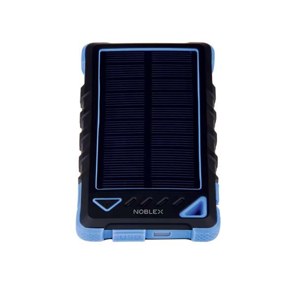Cargador Portatil Noblex Pbn-80Sol - Cargador Solar, Protector Anti Golpes, 8000 Mah