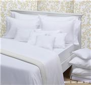 Sabana Hotelera Danubio Plana Blanca 180 Hilos King