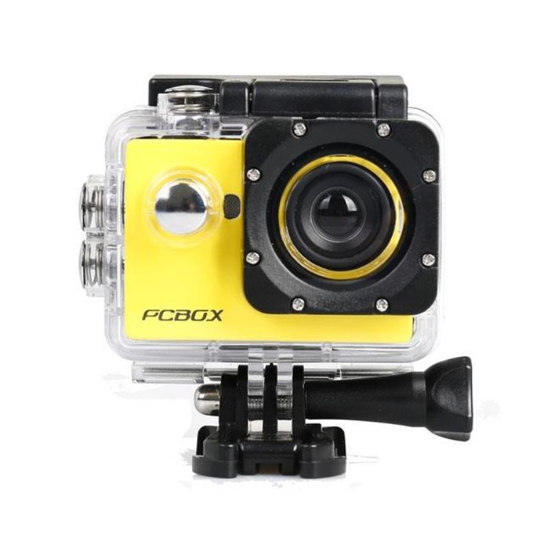 Camara Filmadora Deportiva Pcbox Junior Cam Pcb-C720K Amarilla