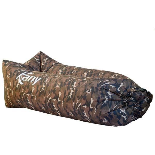 Sillon Inflable Kany Camuflado Verde