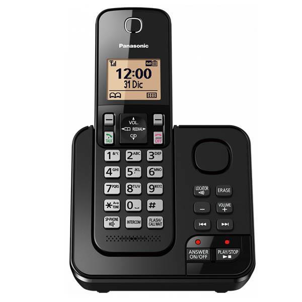 Telefono Inalambrico Panasonic KX-TGC360AGB Dect 6.0,Contestador