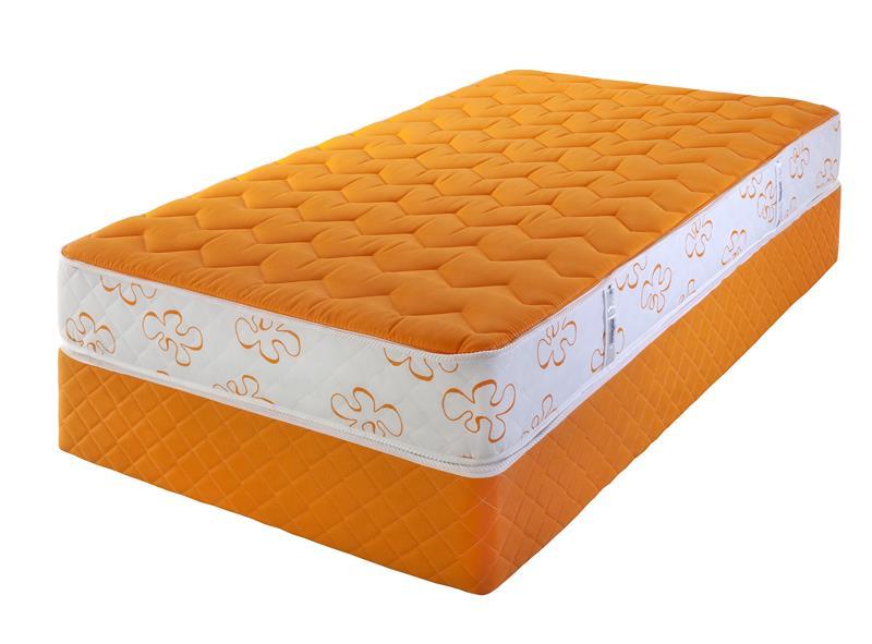 Sommier Meyer 1 Plaza Kolor´S Orange 0.80X1.90 Europeo (Soora080190E)